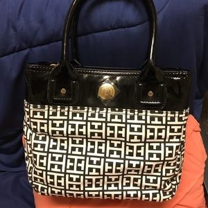 Tommy Hilfiger Signature Monogram Small Tote